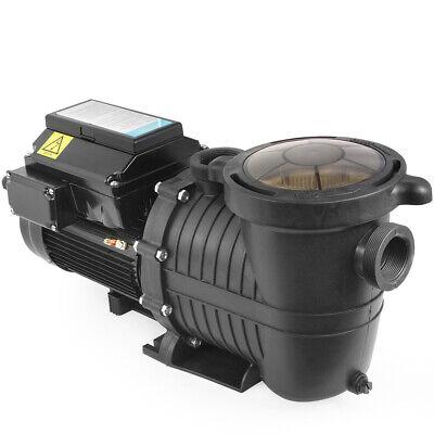 1.5HP Swimming Pool Pumps Variable 4-Speed Energy Efficiency Above InGround -