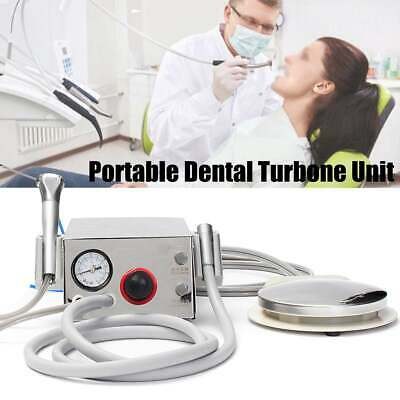 Dental Portable Turbine Unit Metal Shell Water Bottle Work With Compressor 4h
