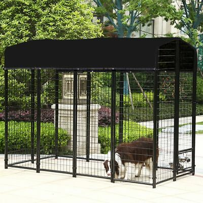 10'×10' Outdoor Dog Kennel Cover Knitted Screen Sun Shade Cloth UV 85%