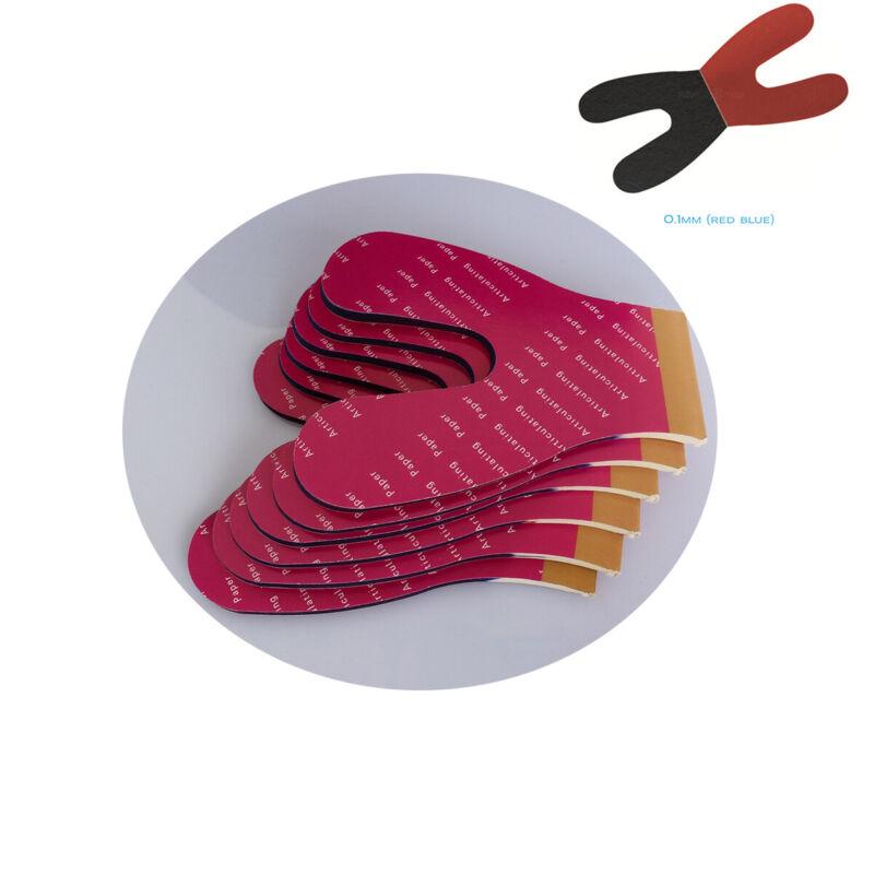 Dental Articulating Paper Horseshoe Blue/Red Thick 100u 72Sheets EASYINSMILE