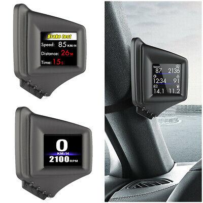 Car A-pillar HUD Projector Head Up Display OBD GPS Speed Water Temp Warning AP-1