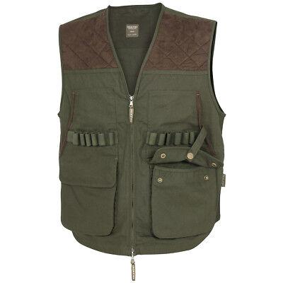 Jack Pyke Countryman Shooting Hunting Fishing Mens Vest Waistcoat Hunters Green