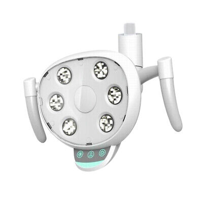 Dental Oral Light Lamp Removable 6 Led Bulbs For Dental Unit Chair Use White