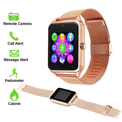 Smartwatch Watch Cell Phone for Android Samsung Galaxy S9 Plus Edge S8 S7 J7 J5 ()
