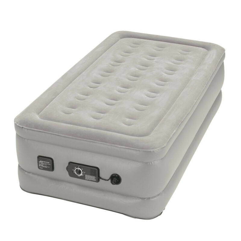 Insta-bed 840016G Raised Twin Airbed with NeverFlat Pump
