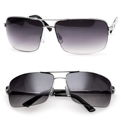 Men's Classic Sunglasses Metal Driving Glasses Aviator Outdoor Sports UV400 New