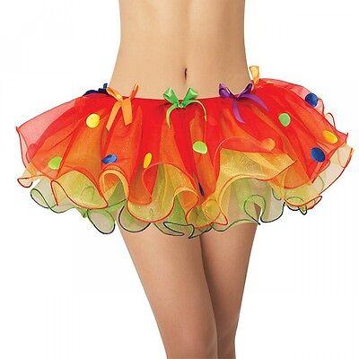 Female Clown Costumes (Sassy Clown Tutu Costume Accessory Adult)