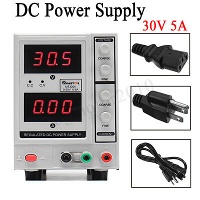 30v 5a Digital Dc Power Supply Variable Adjustable Lab Bench Test Equipment