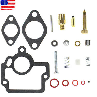 Carburetor Repair Rebuild Kit For Ih International Harvester Carb 50981d 50981db
