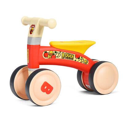 4-Wheel 12-24 Months Kid Balance Bike Baby Walker Toys Toddl