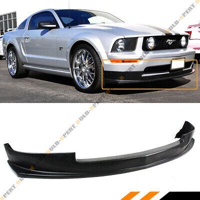 Spoiler Kit Mustang - FOR 2005-2009 FORD MUSTANG S-197 V6 FRONT BUMPER LIP SPOILER SPLITTER BODY KIT