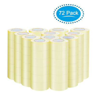 CLEAR PACKING TAPE 72 Rolls 1.9