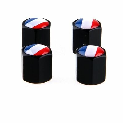 France French Flag Design Car Auto Wheel Tire Valve Stem Air Caps Dust Cover Designer Tire Cover Flag