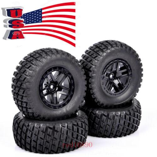 US Rubber Tires RC 4X 1:10 Short Course Truck &wheel rim for TRAXXAS SLASH Car