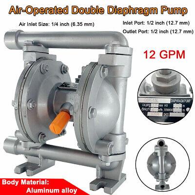 Air-operated Double Diaphragm Pump 12 Inlet Outet Lowviscosity Petroleum Fluid