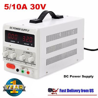 5a10a 30v Dc Power Supply Adjustable Dual Digital Variable Precision Lab Gradsa