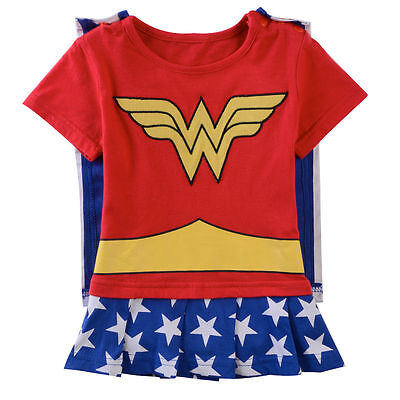 Baby Girl Romper Dresses Infant Wonder Woman Costume Bodysuit Cosplay Clothes](Wonder Woman Baby)
