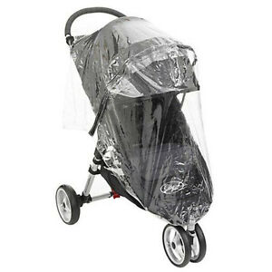 BRAND NEW Baby Jogger City Mini Single STROLLER RAIN COVER  PVC Fits GT aswell