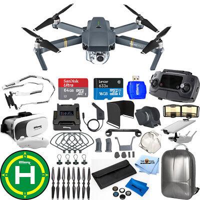 DJI Mavic Pro With 12MP / 4K Camera! W/ Backpack, Drone Vest, VR Goggles + MORE!