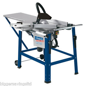 SCHEPPACH HS120 TABLE SAW , CIRCULAR SAW TABLE 240V NEW 315mm Tilting Arbor