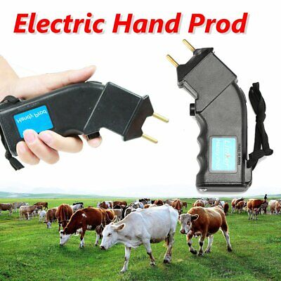 Electric Hand Prod Cattle Beef Prodder Farm Battery Powered Sheep Animal
