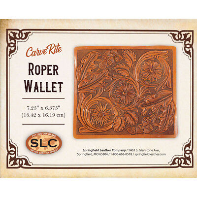Leather Carving Designs (Springfield Leather Co. Bold Carving Tooling Templates Easy Trace Pattern Design )