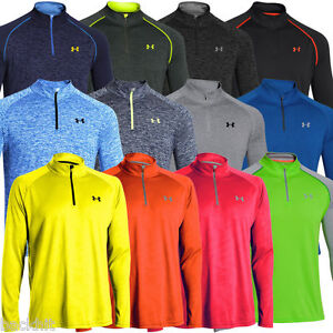 Under Armour 2015 Men 39 S Ua Tech 1 4 Zip Novelty Long