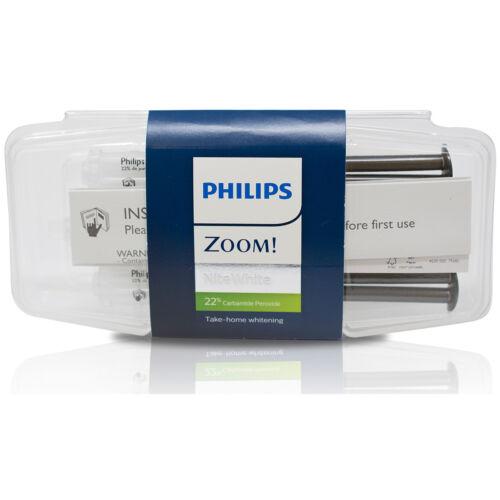 Philips Zoom NiteWhite 22% Teeth Whitening Gel 3 Syringe Pack   Exp: 07/2021