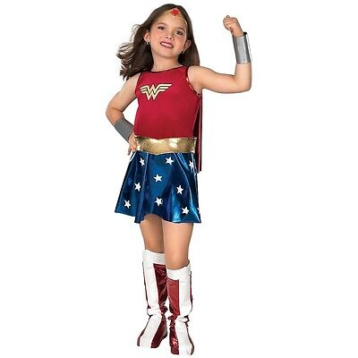 Wonder Woman Costume Kids Halloween Fancy - Childrens Halloween Dress Up