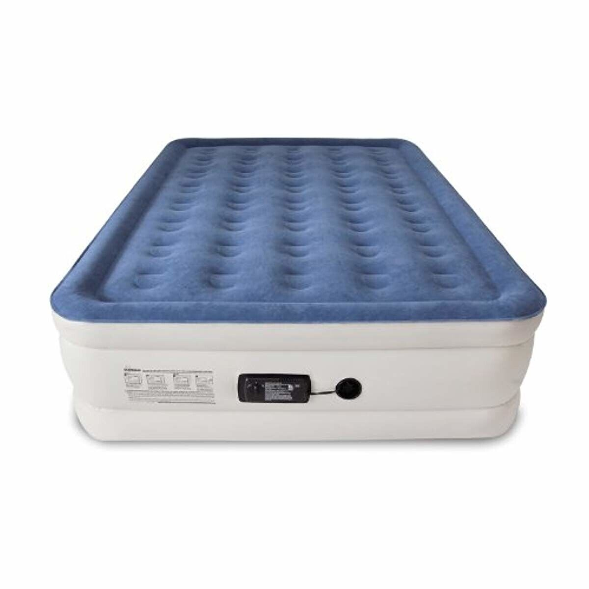 Best Inflatable Mattress Air QUEEN Size Ez RV Kids with Buil
