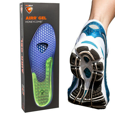 - Sof Sole Airr Gel Shoe Inserts Arch Support Shock Absorbing Breathable Insoles