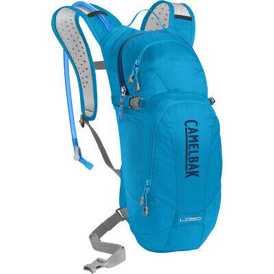 CamelBak Lobo 100 oz Cycling Hydration Back Pack Atomic Blue / Pitch Blue NEW Camelbak Lobo Hydration Pack