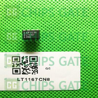 1PCS LT1167CN8 IC PREC INSTRMNT-AMP PROG 8-DIP 1167 LT1167