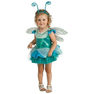 Dragonfly Costume Toddler Fairy Bug Halloween Tutu Fancy Dress Up