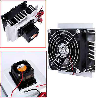 Thermoelectric Peltier Plate Module Cooling System Kit With Cooler Fan 60w 12v