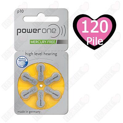 Usato, 120 pile Power One P10 - PR70 (Gialle) MERCURY FREE - Batterie - Sordità 10 usato  Samarate