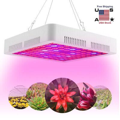 Hydroponic Lamp Grow Light - 3000W LED Grow Light Full Spectrum Veg Flower Indoor Hydroponic Plant Lamp Panel
