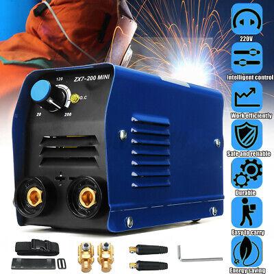 220v Handheld Mini Electric Welding Machine Igbt Dc Inverter Arc Mma Welder Kit