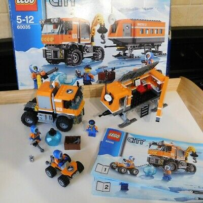 Lego City 60035 Arctic Outpost Complete,used