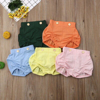 Toddler Girl Diaper Covers (Toddler Infant Baby Girl Boy Cotton Shorts Pants Nappy Diaper Covers Bloomers)