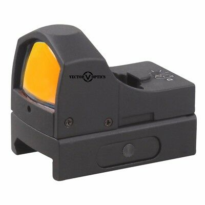 High Quality Dots - Vector Optics Sphinx High Quality Mini Red Dot Scope Sight for Pistol & Rifle g2