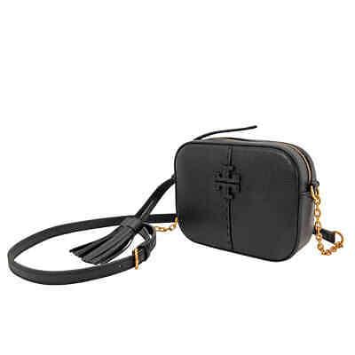 Tory Burch McGraw Crossbody Camera Bag- Black 64447-001