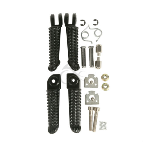 Motor Front Rear Footrests Foot Pegs For Yamaha YZF R1