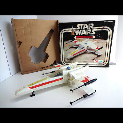 Vintage 1977 Palitoy Star Wars X-Wing Fighter with Original Box & Insert