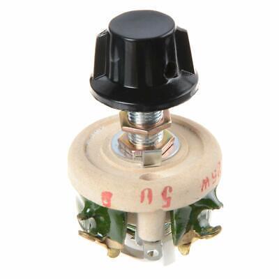 25w 50 Ohm Resistor Rheostat Porcelain Plate Sliding Resistors