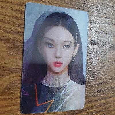 Karina Official Lenticular Photocard Aespa 1st Mini Album Savage Kpop Genuine