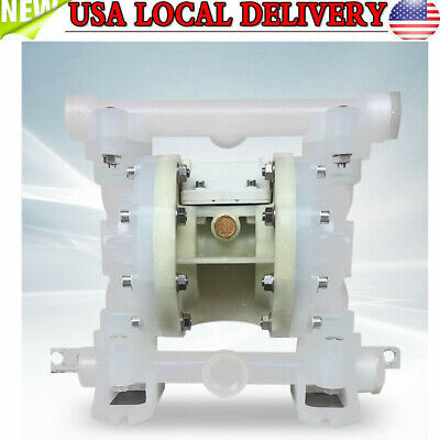 101psi Air-operated Double Diaphragm Air Poly Pump 1 Inlet Outlet Us Updated