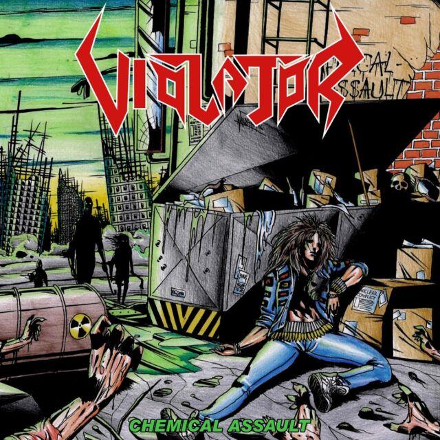"Violator ""Chemical Assault"" CD - NEW!"