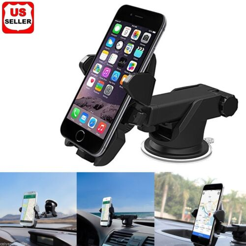 360° Universal Car Windshield Mount Stand Holder for iPhone Moblie Phone GPS PDA Cell Phone Accessories