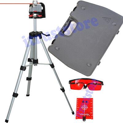 360 Degree Rotary Head Laser Horizontal Vertical Level Plumb Survey Lazer Tool